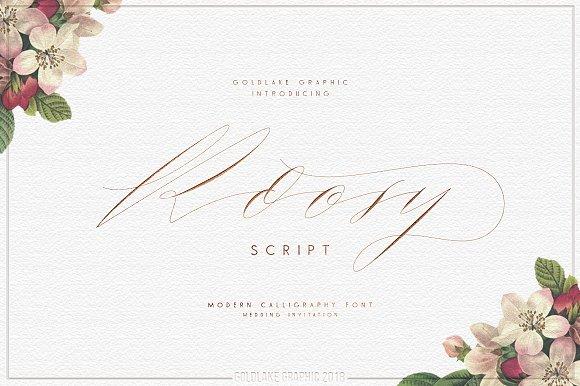 GL Roosy Script