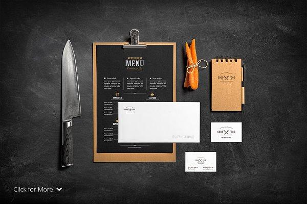 Restaurant & Bar /Stationery Mock-U…