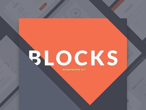 Blocks Wireframe Kit