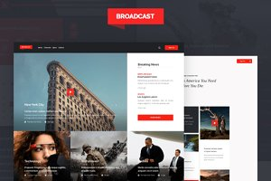 Broadcast Web UI Kit