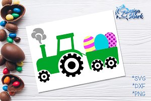 Easter Tractor