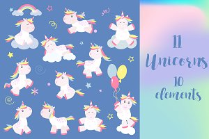 Unicorns collection