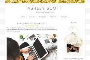 Ashley Scott WordPress Theme
