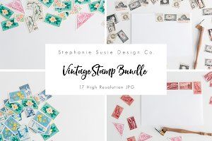 Vintage Stamp Bundle