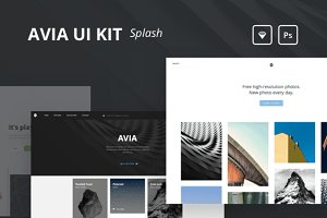 Avia UI Kit: Splash