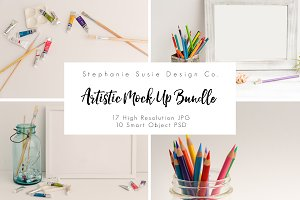 Artistic Mock Up Bundle