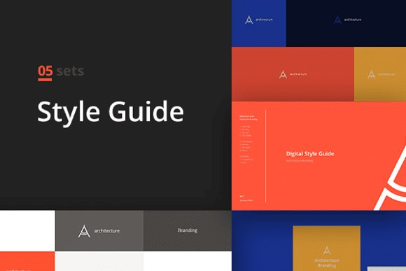 branding book style guide template templates creative market