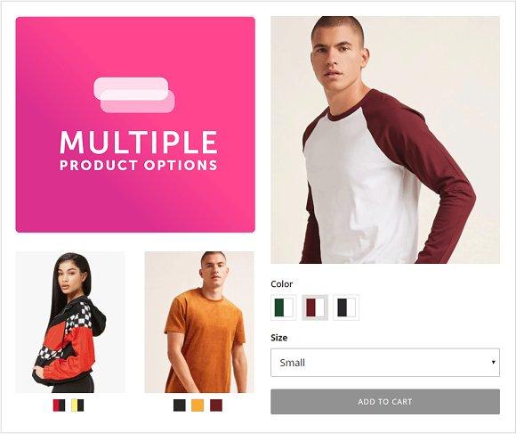 Big Cartel Multiple Product Options