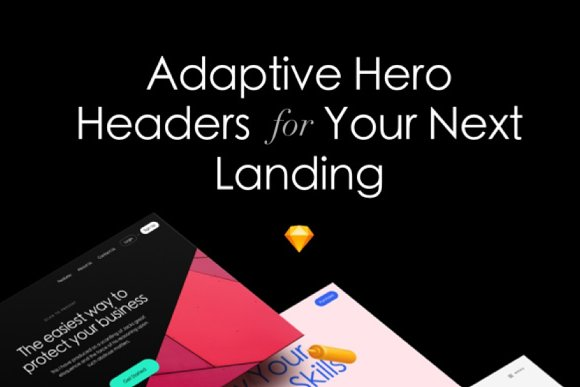 Adaptive Hero Headers