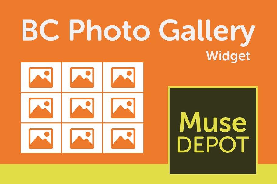 BC Photo Gallery - Muse Widget