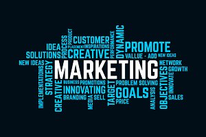 word of success marketing Background