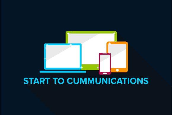 Communication Device Wallpaper