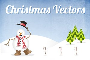 Christmas Vectors Pack 2