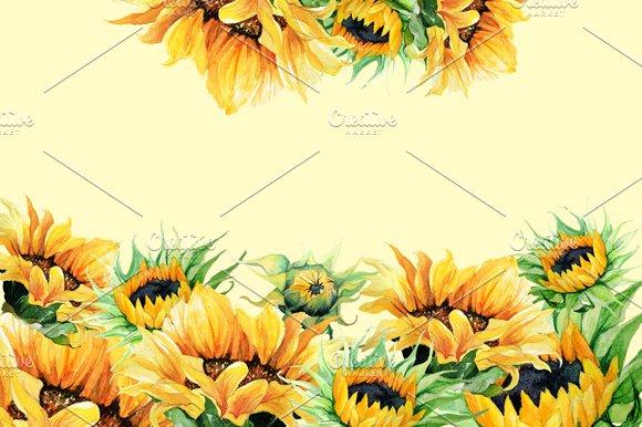 Watercolor clipart sunflowers illustrations creative market watercolor clipart sunflowers illustrations fandeluxe PDF