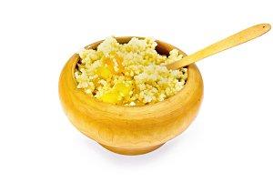 Porridge millet with pumpkin