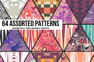 64 Assorted Pattern Bundle