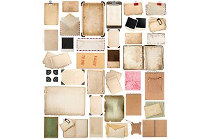 aged paper sheets, books, pages JPG