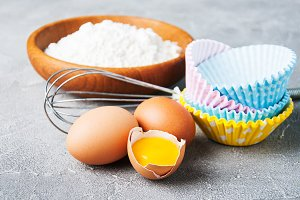 Baking ingredients for pastry