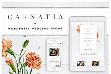 Carnatia WordPress Wedding Theme by  in Wedding