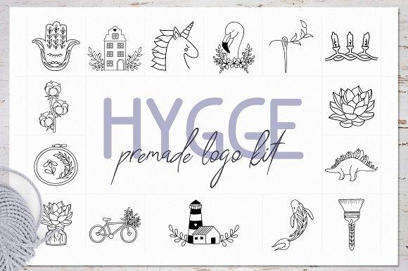 Hygge Premade Logo Kit