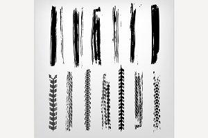 Grunge Tire Elements