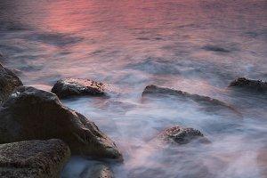 Seascape in Costa brava