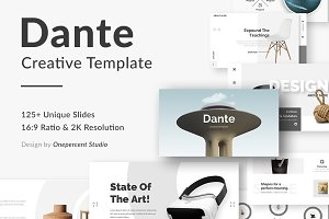 Dante Creative Google Slide Template