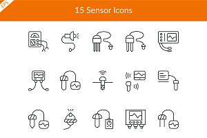15 Sensor Icons
