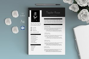 Creative Modern Resume/CV - Taylor