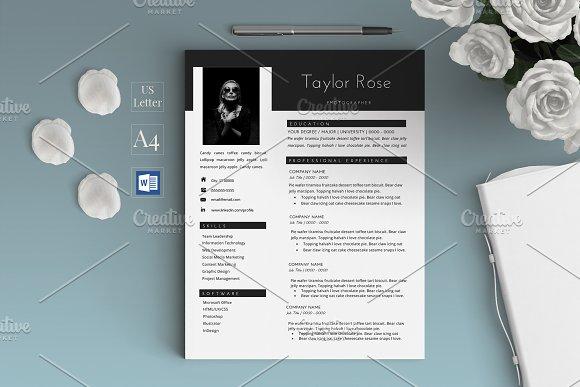 Creative Modern Resume CV Taylor