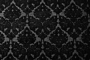 Black Damask Gothic Background
