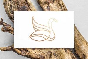 Swan Line art