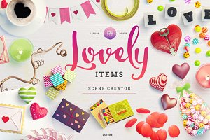 Lovely Items Scene Creator