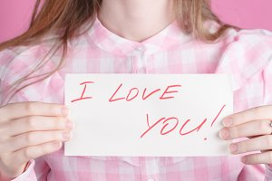 words I love you