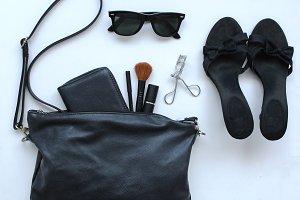 Open female bag