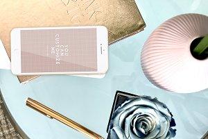 Modern Femme Styled Iphone Mockup #1