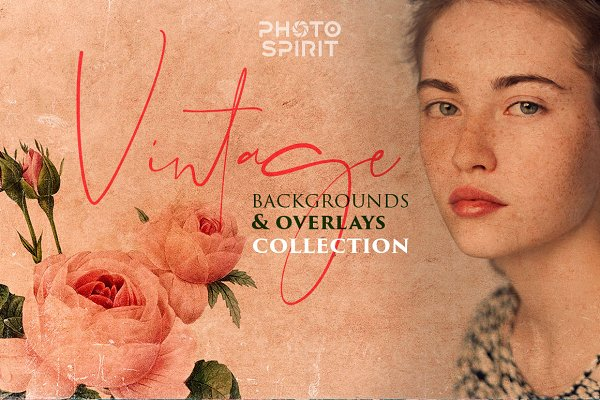 Textures: PhotoSpirit - Vintage Backgrounds & Overlays