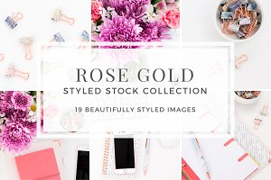 Rose Gold Styled Stock Bundle