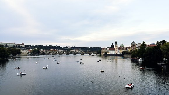 Sunset On Prague
