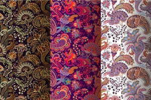 3 Paisley Patterns