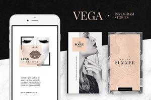 Vega - Instagram Story Templates