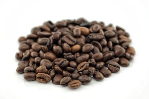 Toasted coffee grains
