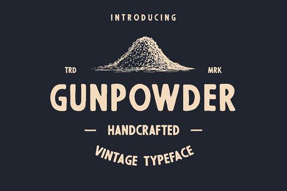 Gunpowder Vintage Type
