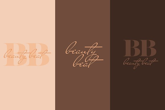 Beauty Beat Collection Logos
