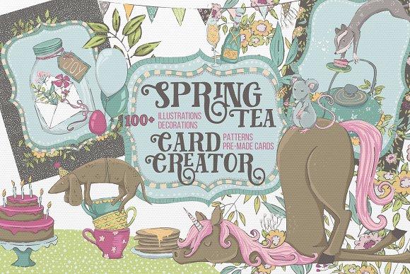 SpringTea Card Creator