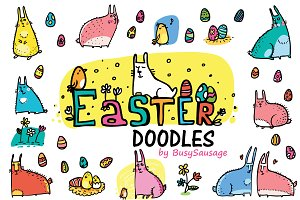 Easter Doodles 27+