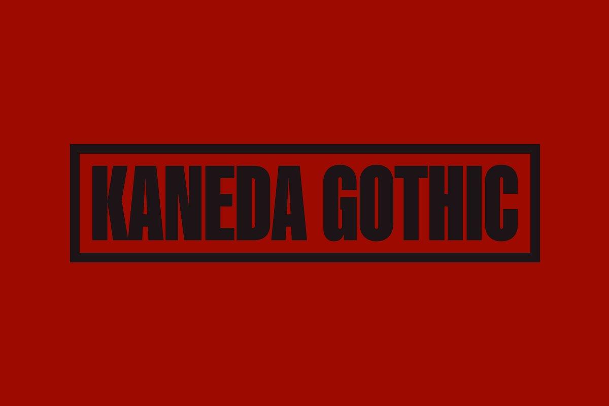 Kaneda Gothic ~ Sans Serif Fonts ~ Creative Market