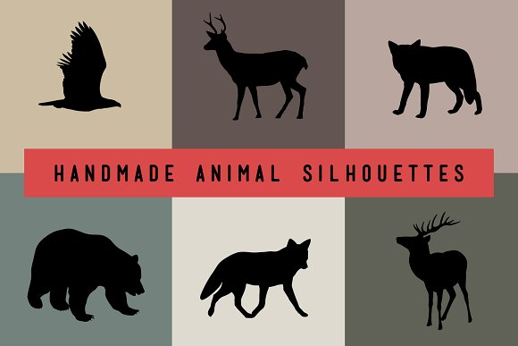 Handmade Animal Silhouettes