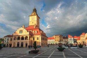 Brasov city square