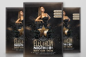 Electron Night Flyer